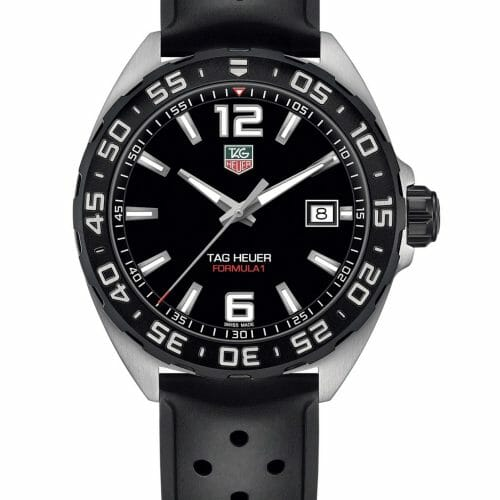 TAG Heuer Formula 1 Steel Black Dial 41mm- front view