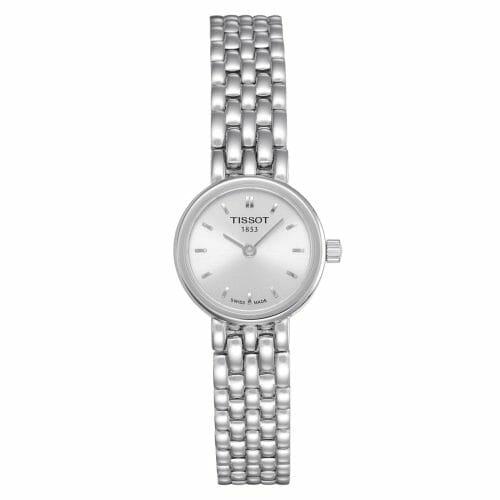 Tissot Lovely Steel Silver Dial 19.5mm- Front