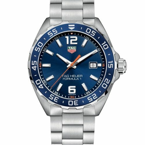 TAG Heuer Formula 1 Steel Blue Dial 43mm- front view