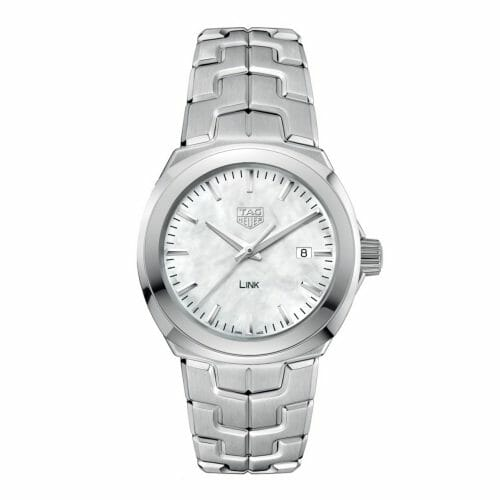 TAG Heuer Link Steel Mother of Pearl Dial 32mm- front