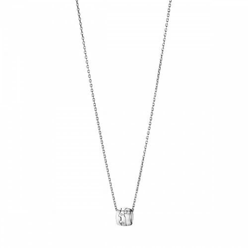Georg Jensen 18ct White Gold Diamond Fusion Pendant