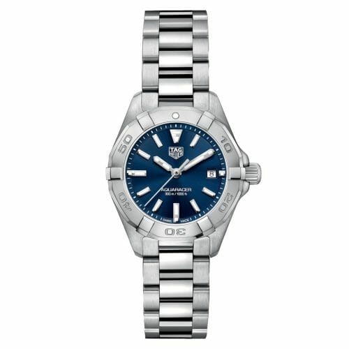 TAG Heuer Aquaracer Steel Blue Dial 27mm- front
