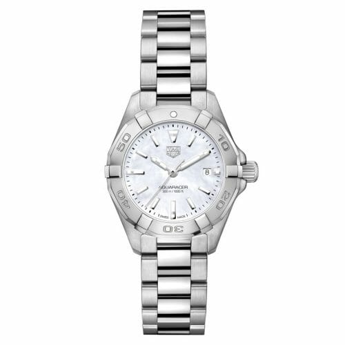TAG Heuer Aquaracer Steel Mother of Pearl Dial 27mm- Front