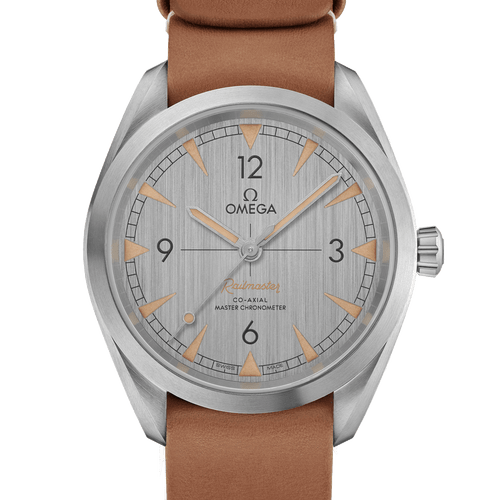 Omega Railmaster Co-Axial Master Chronometer Grey Dial 40mm- front
