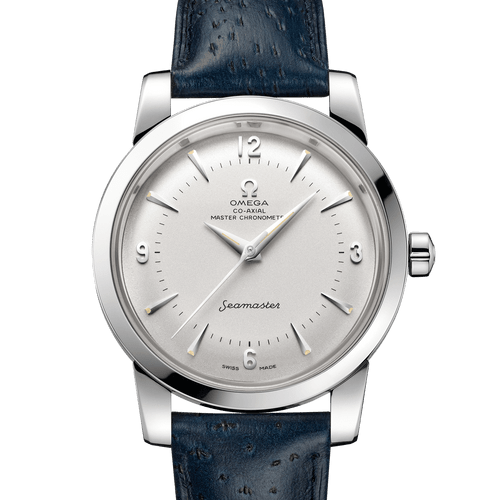 OMEGA Seamaster 1948 Co-Axial Master Chronometer Limited Edition XXXX/1948 Silver Dial 38mm- front