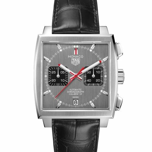 TAG Heuer Monaco Final Edition Calibre 12 Steel Silver Dial 39mm- Front