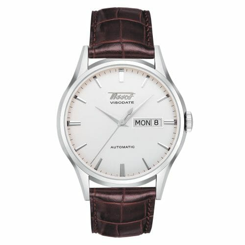 Tissot Heritage Visodate Automatic Steel Silver Dial 40mm- Front View