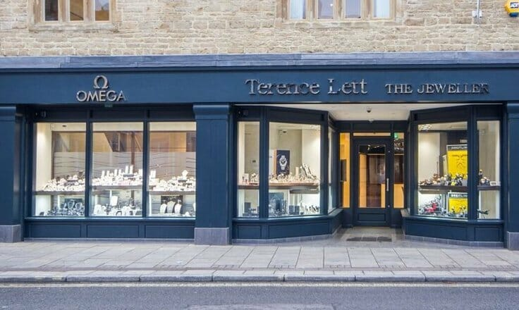 Front of Terence Lett Jewellers Witney
