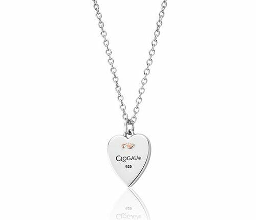 Clogau Sterling Silver & 9ct Rose Gold Tree of Life Insignia Heart Pendant 3SCSHLP