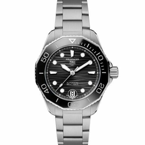 TAG Heuer Aquaracer Professional 300 Calibre 5 Steel Black Dial 36mm WBP231D.BA0626