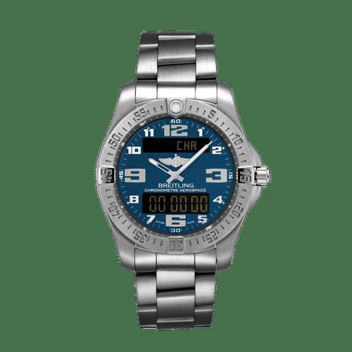 Breitling Aerospace EVO Titanium Blue Dial 43mm E79363101C1E1