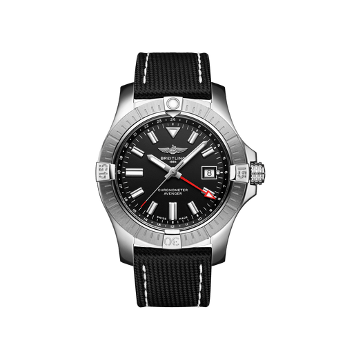 Breitling Avenger Automatic GMT Steel Black Dial 43mm A32397101B1X1