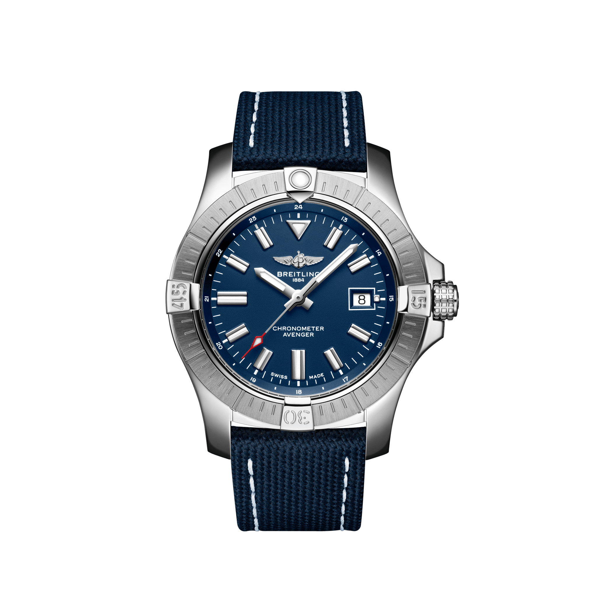 Breitling Avenger Automatic Steel Blue Dial 43mm A17318101C1X1