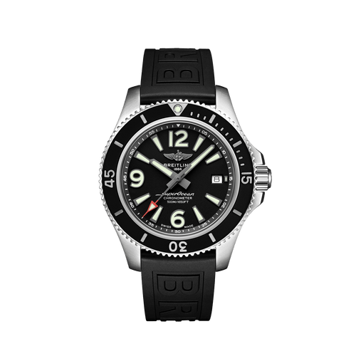 Breitling Superocean Automatic Steel Black Dial 42mm A17366021B1S1
