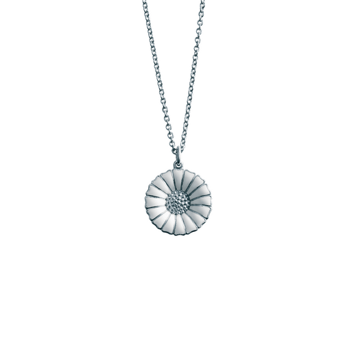 Georg Jensen Sterling Silver Daisy Large Pendant 3536208