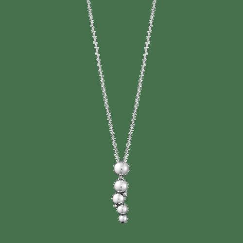 Georg Jensen Sterling Silver Moonlight Grapes Drop Pendant 20000662