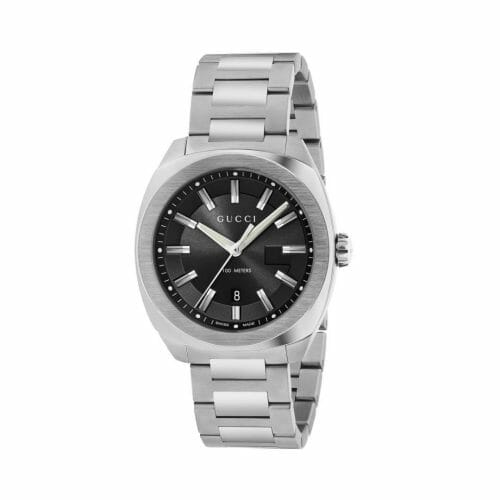 Gucci GG2570 Stainless Steel Black Dial 41mm YA142301