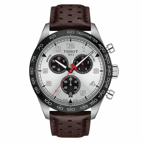 Tissot PRS516 Chronograph Steel Silver Dial 45mm T131.617.16.032.00