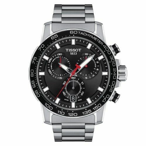 Tissot Supersport Chrono Chronograph Steel Black Dial 45.5mm T125.617.11.051.00