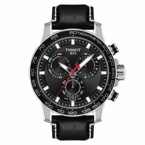 Tissot Supersport Chrono Chronograph Steel Black Dial 45.5mm T125.617.16.051.00
