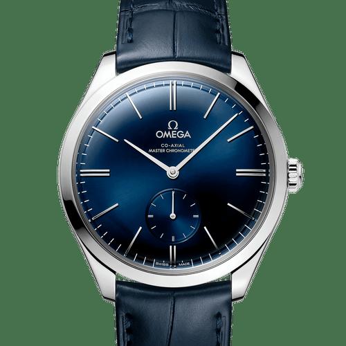 OMEGA De Ville Tresor Small Seconds Co-Axial Master Chronometer Blue Dial 40mm 435.13.40.21.03.002
