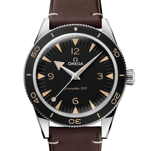 OMEGA Seamaster 300 Heritage Co-Axial Master Chronometer Black Dial 41mm 234.32.41.21.01.001