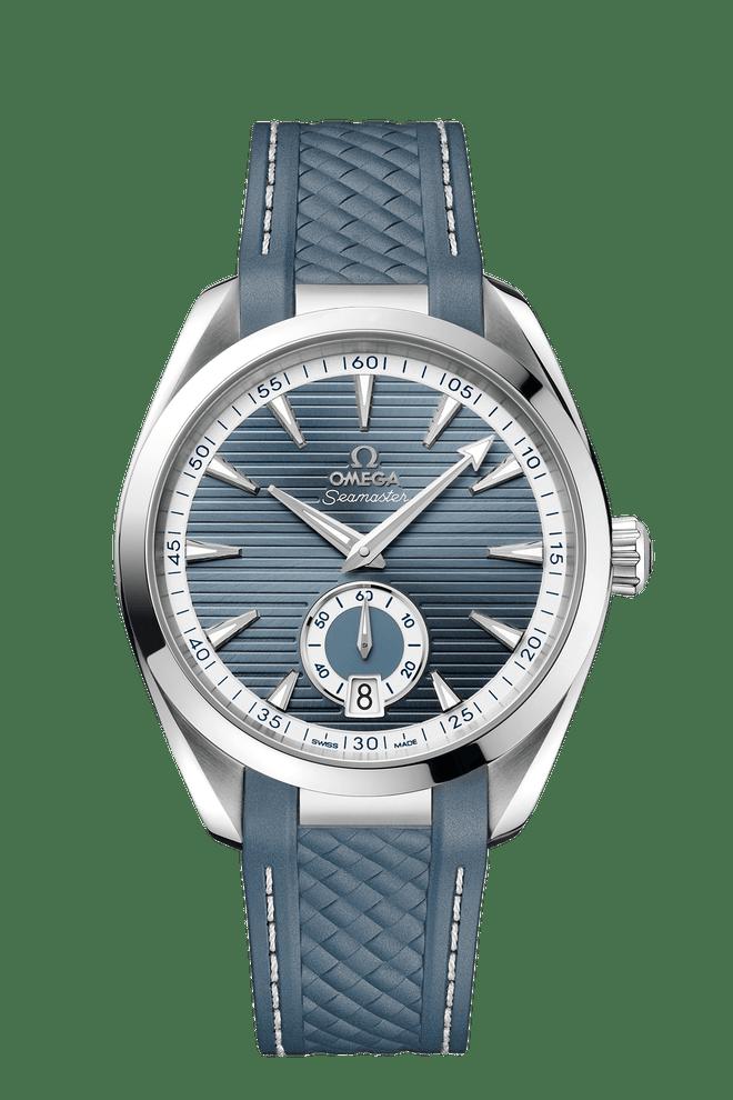 OMEGA Seamaster Aqua Terra Small Seconds Co-Axial Master Chronometer Blue Dial 41mm 220.12.41.21.03.005