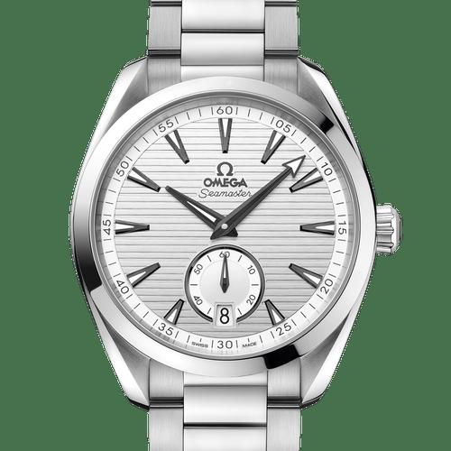 OMEGA Seamaster Aqua Terra Small Seconds Co-Axial Master Chronometer Silver Dial 41mm 220.10.41.21.02.002