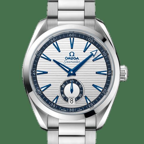 OMEGA Seamaster Aqua Terra Small Seconds Co-Axial Master Chronometer Silver Dial 41mm 220.10.41.21.02.004