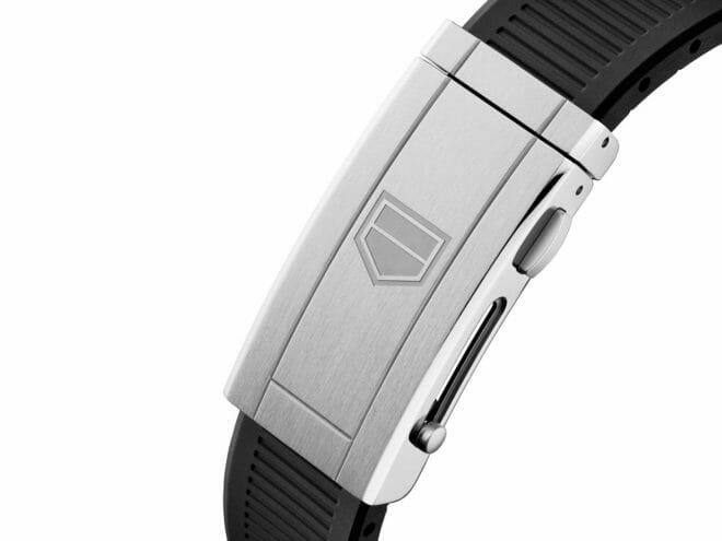 TAG Heuer Aquaracer Professional 300 Calibre 5 Steel Black Dial WBP201A.FT6197 Clasp