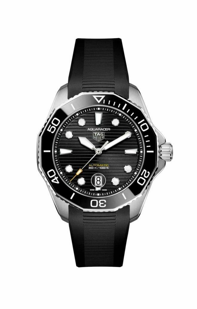 TAG Heuer Aquaracer Professional 300 Calibre 5 Steel Black Dial WBP201A.FT6197