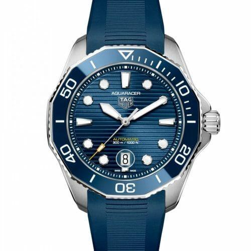 TAG Heuer Aquaracer Professional 300 Calibre 5 Steel Blue Dial 43mm WBP201B.FT6198